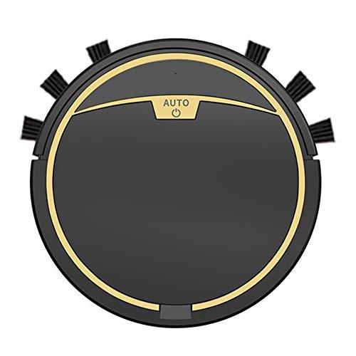Baalaa 2800Pa robot Partes de aspirador con control remoto múltiples modos de limpieza alfombra limpiador negro sin tanque de agua