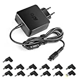 KFD 65W Chargeur Universel pour Ordinateur Portable ASUS Acer Sony Fujitsu Toshiba...