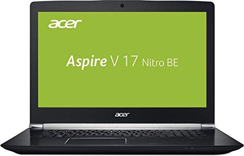Acer Aspire V 17 Nitro Black Edition VN7-793G-52XN 43,9 cm (17,3 Zoll Full-HD IPS matt) Gaming Laptop (Intel Core i5-7300HQ, 16GB RAM, 256GB PCIe SSD, 1000GB HDD, GeForce GTX 1060, Win 10) schwarz