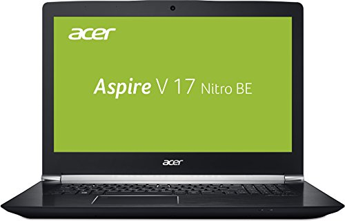 Acer Aspire V 17 Nitro Black Edition VN7-793G-5811 43,9 cm (17,3 Zoll Full-HD IPS matt) Gaming Laptop (Intel Core i5-7300HQ, 8GB RAM, 1.000GB HDD, GeForce GTX 1050Ti, Linux) schwarz