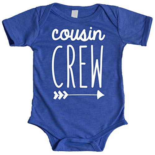 Cousin Crew Arrow T-Shirts and Bodysuits for Baby and Toddler Boy and Girls Fun Family Outfits Vintage Royal Bodysuit