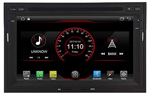 Android 10 Car Stereo Radio Audio Navegación GPS 7 pulgadas Compatible con Peugeot 3008/5008 Compatible con Citroen Berlingo Partner 2009 2010 2011 Soporte Cámara de visión trasera / SWC / Mirror Li