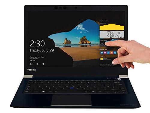 TOSHIBA Portege X30-D-121 Laptop (Intel Core i7-7500U, 33,8cm 13,3Zoll Full-HD entspiegelt, 16GB RAM, 512GB SSD, WLAN, Bluetooth 4.2, Windows 10 Pro) blau
