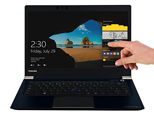 TOSHIBA Portege X30-D-123 Laptop (Intel Core i7-7500U, 33,8cm 13,3Zoll Full-HD entspiegelt, 16GB RAM, 512GB SSD, WLAN, Bluetooth 4.2, Windows 10 Pro) blau