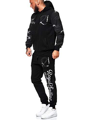 Code47 Jogginganzug 3677 Schwarz Camouflage XXXXL