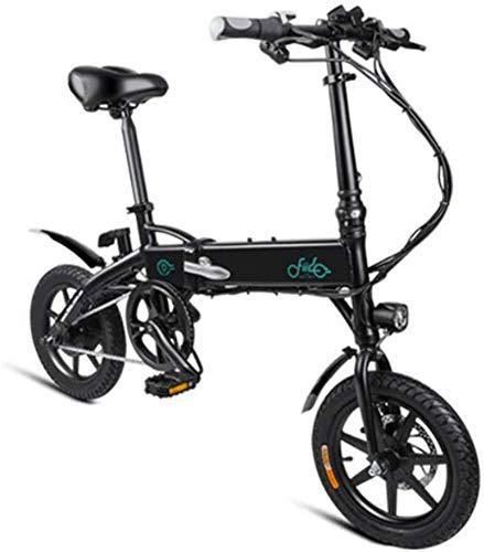 Bicicletas Eléctricas, Bicicletas E-Bici plegable Eléctrica en adultos visualización Viajes Hombres Mujeres al aire libre Montaña Bicicleta 250W 36V 7.8AH de iones de litio LED Velocidad máxima 25 kil