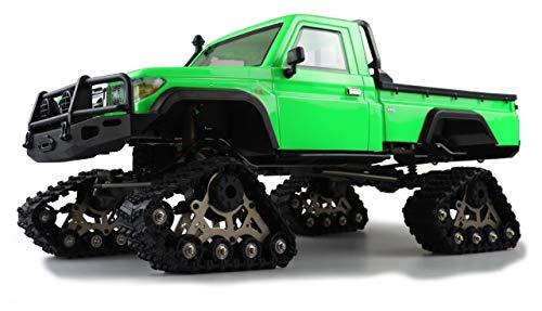 Amewi 22473 AMXRock RCX8PT Scale - Picaporte para Crawler (Escala 1:8, Ruedas dentadas, teledirigidas, RTR), Color Verde