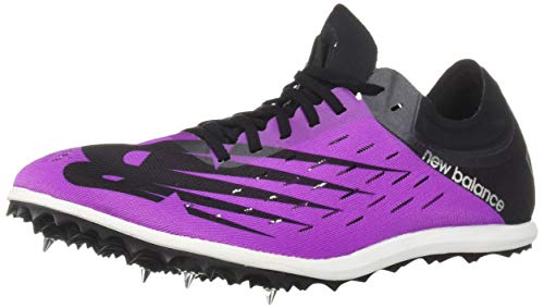 New Balance Women's Long Distance 5000 V6 Running Shoe, Voltage Violet/Black, 12 B US