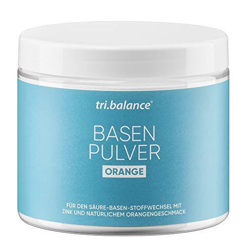 tri.balance Basenpulver Orange 300 g - 1er Pack I Pro I Mit Zink zur Entsäuerung I Für den Säure-Basen-Stoffwechsel I vegan