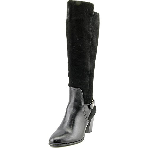 Alfani Careeni Wide Calf Women US 8 Black Knee High Boot