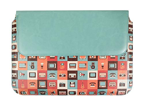 emartbuy Gadgets Premium-PU Leder Magnetisch Folio Brieftasche Hülle Abdeckung Sleeve 11,6 Zoll - 13,5 Zoll Geeignet Für Die Unten Aufgeführten Geräte