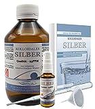 Liquid for Life Argento colloidale 25ppm - 1000ml di acqua d'argento - in CONFEZIONE DI PROTEZIONE DELLA RADIAZIONE - con flacone spray da 30 ml e accessori
