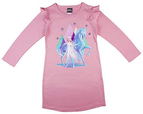 Kleines Kleid Nachthemd Mädchen Eiskönigin in Größe 110 116 122 128 134 140 (Modell 1, 116)
