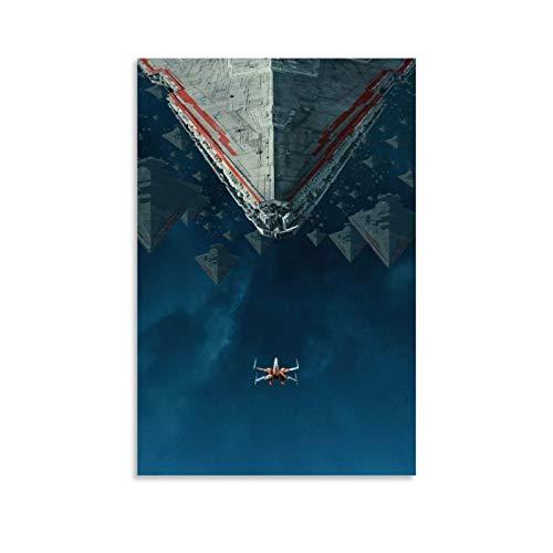DRAGO VINES Star Wars L'ascesa di Skywalker bambini tela poster decorazione Villa 50x75cm