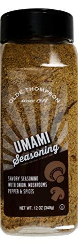 Olde Thompson Umami Seasoning Savory Onion Mushroom Pepper Spice Blend, 12 Ounce