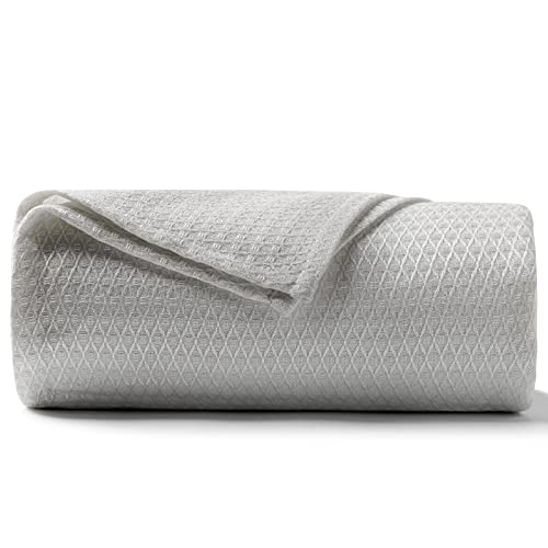 DANGTOP Cooling Blankets, Queen Size 100% Bamboo Blanket for All-Season, Cooling Blanket Absorbs Body Heat to Keep Cool on Warm Night, Ultra-Cool...