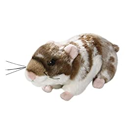 Carl Dick Hamster dark brown, 6.5 inches, 17cm, Plush Toy, Soft Toy 1757003