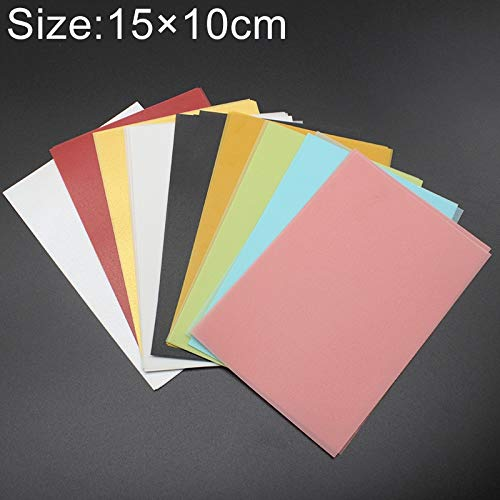Stationery Office School Supplies 50 PCS Bunte Papierkarte for Stempel 15 * 10cm