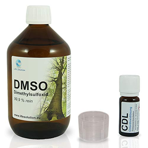 DMSO Dimethylsulfoxid 99,9% höchste Reinheit (Ph. Eur.) - 500 ml - inkl. CDL Probe