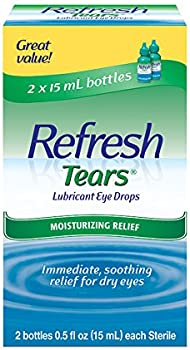 4-Count Refresh Tears Lubricant Eye Drops