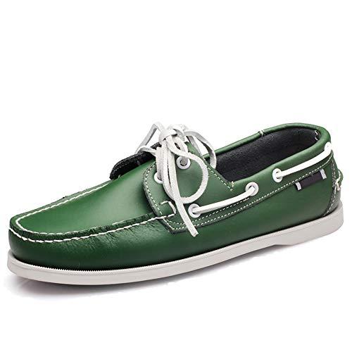 Zapatos Mocasines de Cuero sin Cordones y con Cordones para Hombres