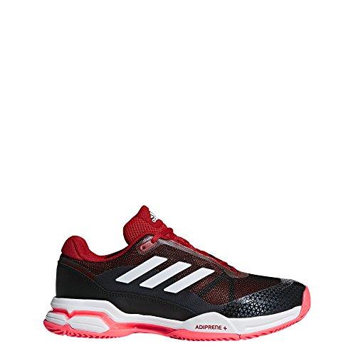 adidas Men's Barricade Club Tennis Shoe, Black/Matte...