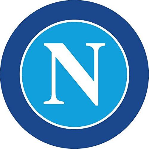 SSC Napoli FC Italy Soccer Football Hochwertigen Auto-Autoaufkleber 12 x 12 cm