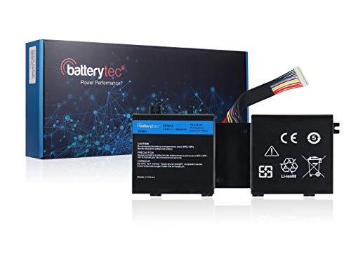 Batterytec® Bateria para DELL 2F8K, DELL Alienware 17 A17, Alienware 17 R1,...