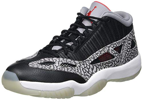 Nike Air Jordan 11 Retro Low, Zapatillas de básquetbol Hombre, Black Cement, 42.5 EU