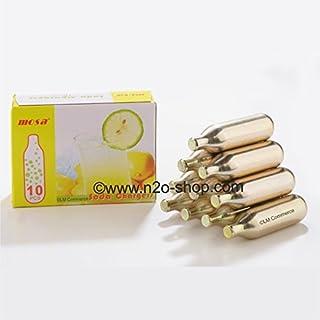 30 x 8 g CO2-soda-capsules koolzuurpatronen voor sodabereider, soda sifons en bruiswatertoestel.