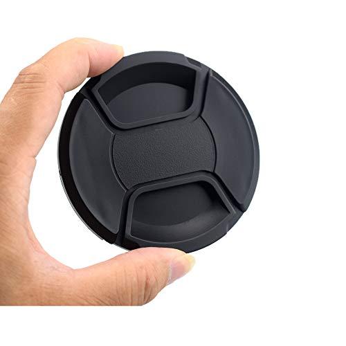 43 mm Snap-On copriobiettivo centrale, tappo di protezione per fotocamera in plastica riciclata al 100%. Compatibile con tutti i produttori di fotocamere con lenti da 43 mm.