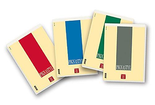 Pigna 0213748BI, Conf. 10 pz. Blocco A4 con Punto Metallico, 70 Fogli