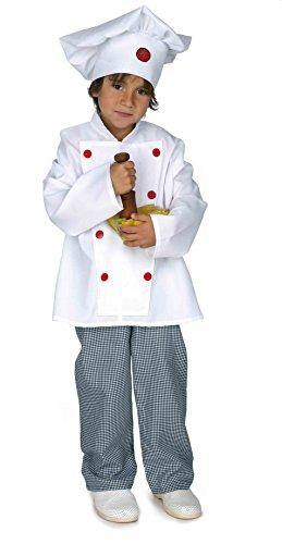 Disfraz cocinero infantil. Talla 5/6 años.