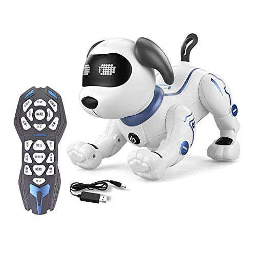Makluce Intelligent Robot Dog New Remote Control Interactive Programming Children Adult Toys Birthday Gift