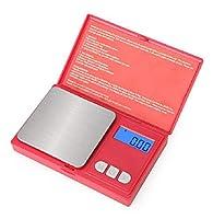 eidyer bilancia digitale - bilancia elettronica 500g x 0.01g mini portatile bilancia, digital pro pocket bilancia con display lcd retroilluminato, bilancia da cucina gioielli (500g/0.01g)