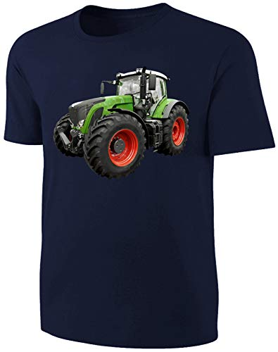 Traktor Kinder T-Shirt Schlepper Shirt Blau Size 104
