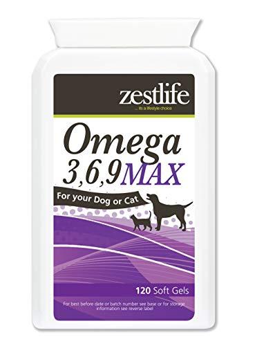 Zestlife Omega 3,6,9 MAX per cani e gatti 120 soft gel