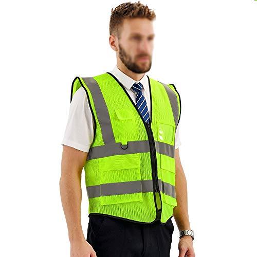 ZSIF Veiligheid reflecterend vest, engineering sanitaire werknemers mesh reflecterend vest, rijden nacht running reflecterende kleding, een verscheidenheid aan kleuren om uit te kiezen