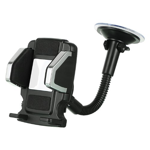 Importer520 Car Vent or Flexible Stand Dash Mount Universal Vehicle Swivel Holder For LG Mach LS860 (Boost Mobile, Sprint)
