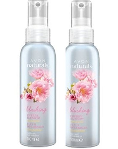 2 x Avon Naturals parfumé Spritz – Cherry Blossom – 100 ml