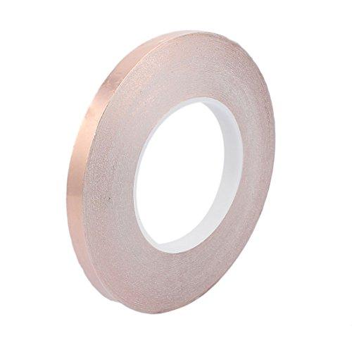 Aexit 10mm Breite 50M Länge DIY Kleber einseitig leitfähiges Kupferfolienband (a9f6b7924a6262d7f516daa419bcdcca)