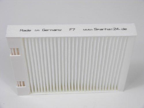 Filtro di ricambio in plastica cornice F7Bypass per VAILLANT recovair Var 275/350(1Filtri)
