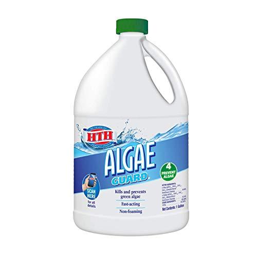 HTH 67034 Algae Guard Swimming Pool Algaecide Cleanser, 1 gal
