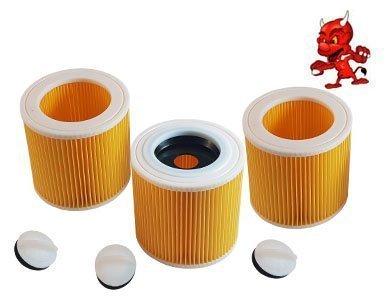 3 Cartouche de Filtre Filtre Rond Lamellenfilter pour Dewalt D27900