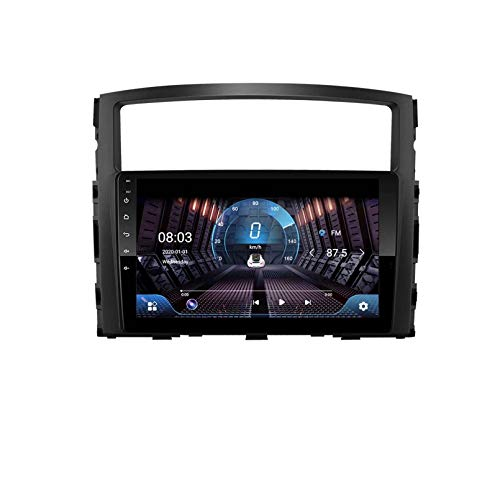 4G + 64G IPS 2.5D 36DSP Android 9.1 2 Din Car DVD Player Multimedia Player GPS Para Mitsubishi Pajero V97 2006-2014 Navigatio Radio STEREO(Size:ocho núcleos,Color:WIFI:2GB+32GB)