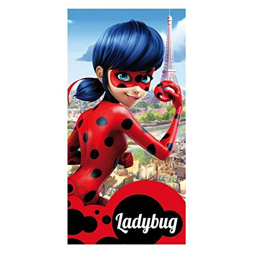 TOALLA POLYESTER LADY BUG