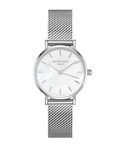 Rosefield Reloj Analógico para Mujer de Cuarzo con Correa en Metal 26WS-266