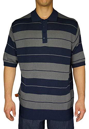 FB County Men's Charlie Brown Shirt X-Large Navy/Grey