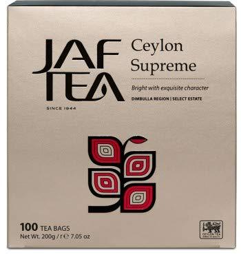 JAF TEA Classic Gold - Ceylon Supreme - 100 Teebeutel