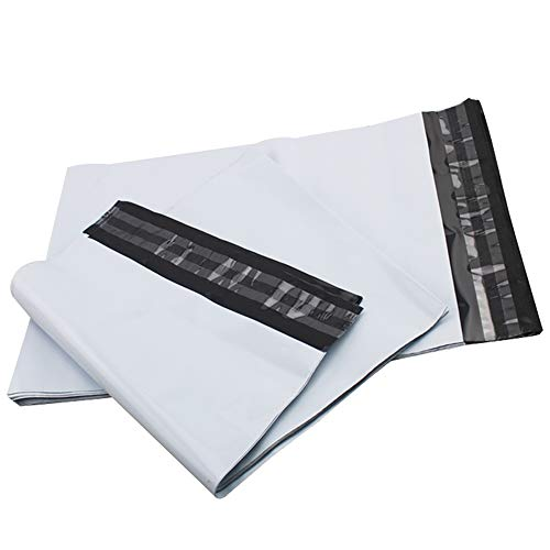 Upkg 1000 Pcs 7.5x10.5 Glossy White Poly Mailers Shipping Bags Mailing Envelopes with Self Seal Waterproof and Tear-Proof Postal Bags (PM2-7.5X10.5 Inch (1000 Pack))